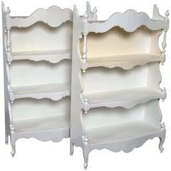 Pair of Richard Himmel Wall Shelves