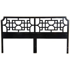 Chinoiserie, Fretwork Headboard, King-Size