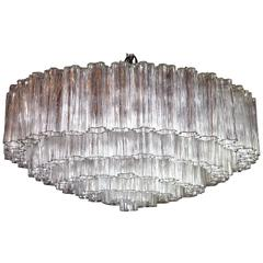 Large Italian Murano Thronchi Chandelier