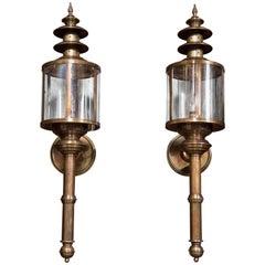 Pagoda Style Wall Lanterns