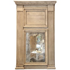 Trumeau Mirror with Antiqued Mirror