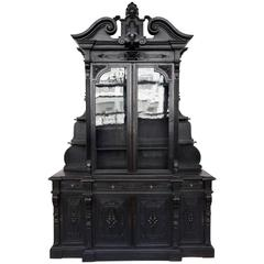 Large and Unusual French 19th Century Bookcase