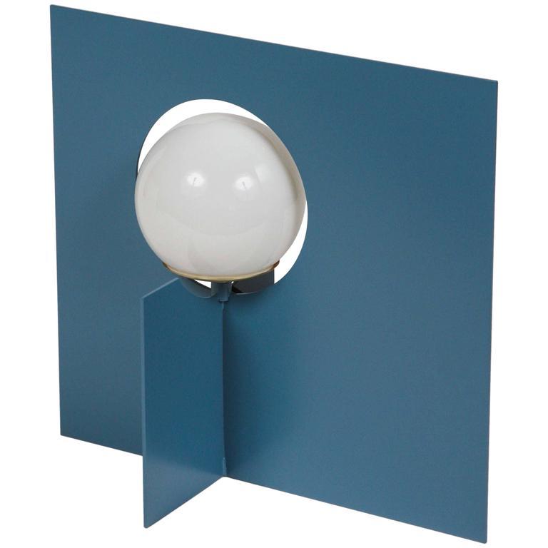 Paul Marra Steel Intersection Table Lamp