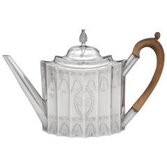 Early American Silver Teapot