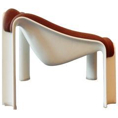 Model 301 Lounge Chair by Pierre Paulin for Artifort, Netherlands, 1960s