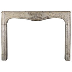 Louis XIV Period Antique Fine French Fireplace Surround