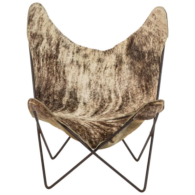 Pony Hide Butterfly Chair
