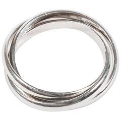 Cartier Platinum Trinity Ring