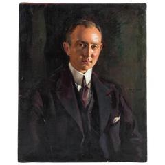 Portrait by Max Rimboeck, Germany, circa 1920