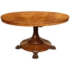 Superb, English Regency, Pollard Oak Centre Table