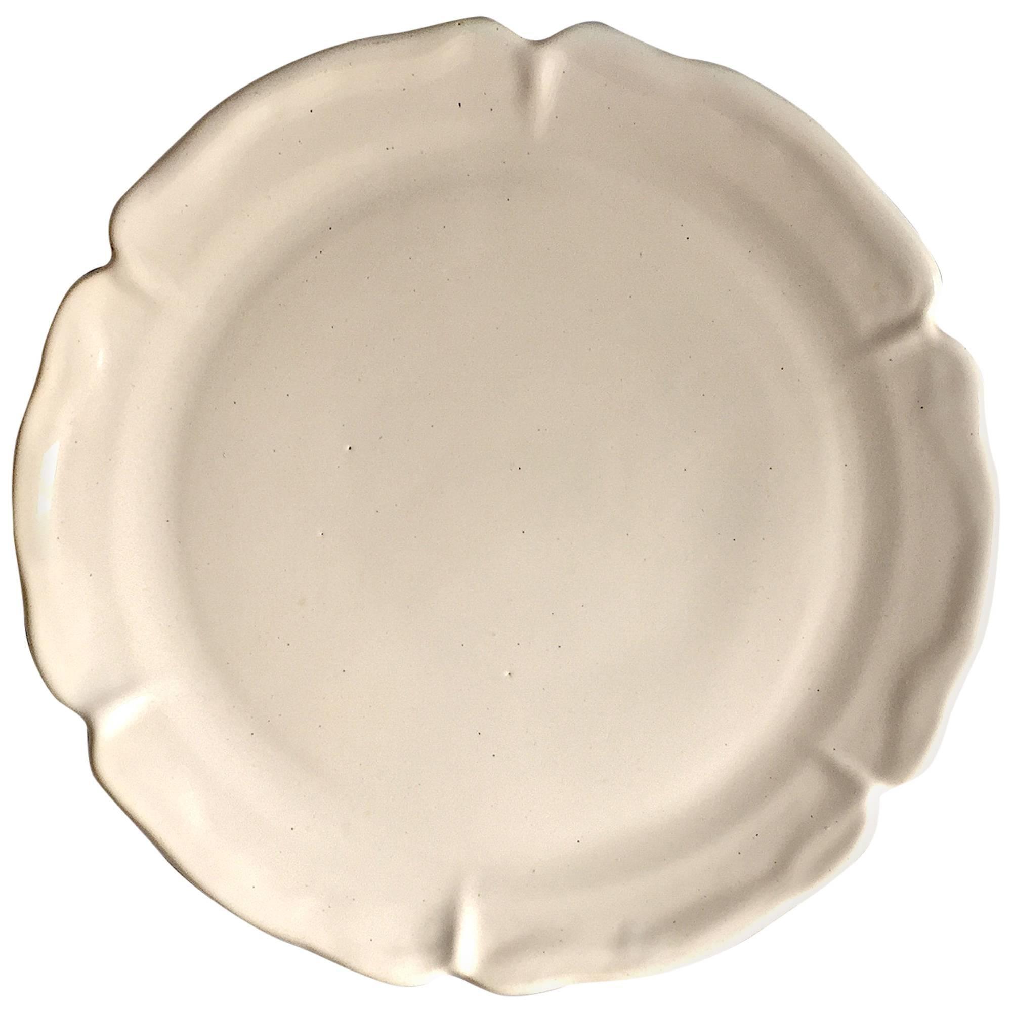 Suzanne Ramie, Madoura, Large White Plate