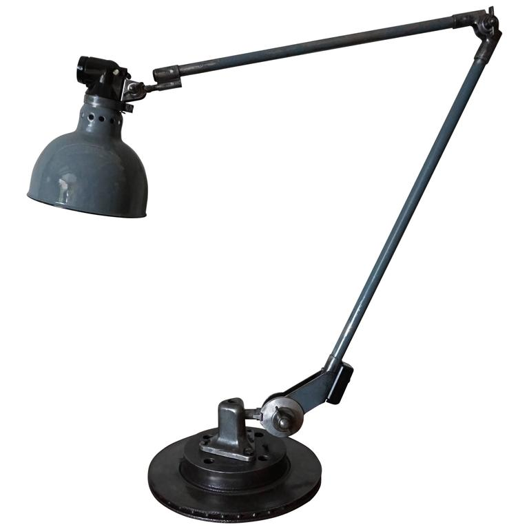 Industrial Desk Lamp by Ernst Rademacher, 1930s 1
