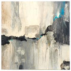 """""""Eagle Landing"""" Mixed-Media Painting by Ashley Mayel"""