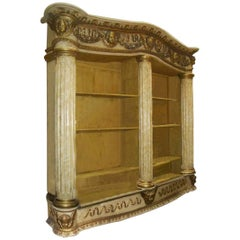 19th Century Monumental Architectural Bookcase