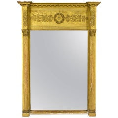 19th Century French Empire Style Mirror