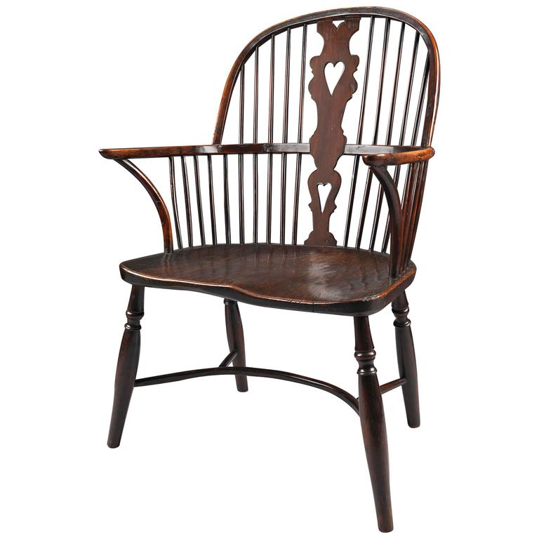 18th Century Windsor Bow Back Chair At 1stdibs