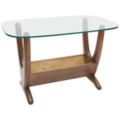 Side Table and Planter in the style of Adrian Pearsall, USA, 1960s