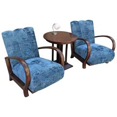 French Art Deco Living Room Set