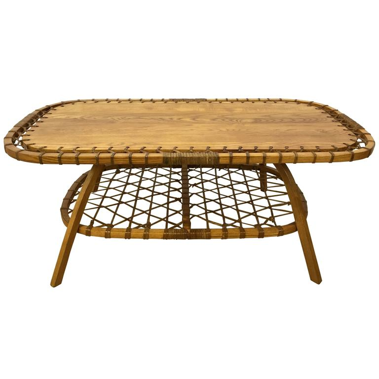 Rectangular Adirondack Style Coffee Table For Sale At 1stdibs