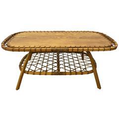 Rectangular Adirondack Style Coffee Table