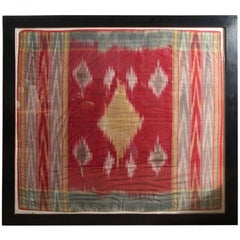 Syrian Wedding Gift Cloth, Framed