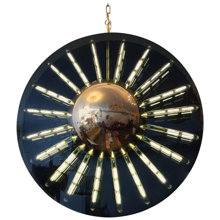 Grand Saturno Pendant Chandelier For Sale