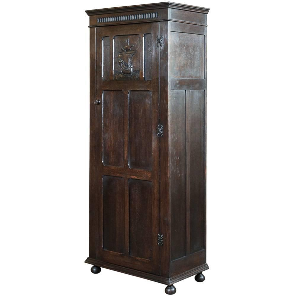 antique country french bonnetiere or armoire at 1stdibs. Black Bedroom Furniture Sets. Home Design Ideas