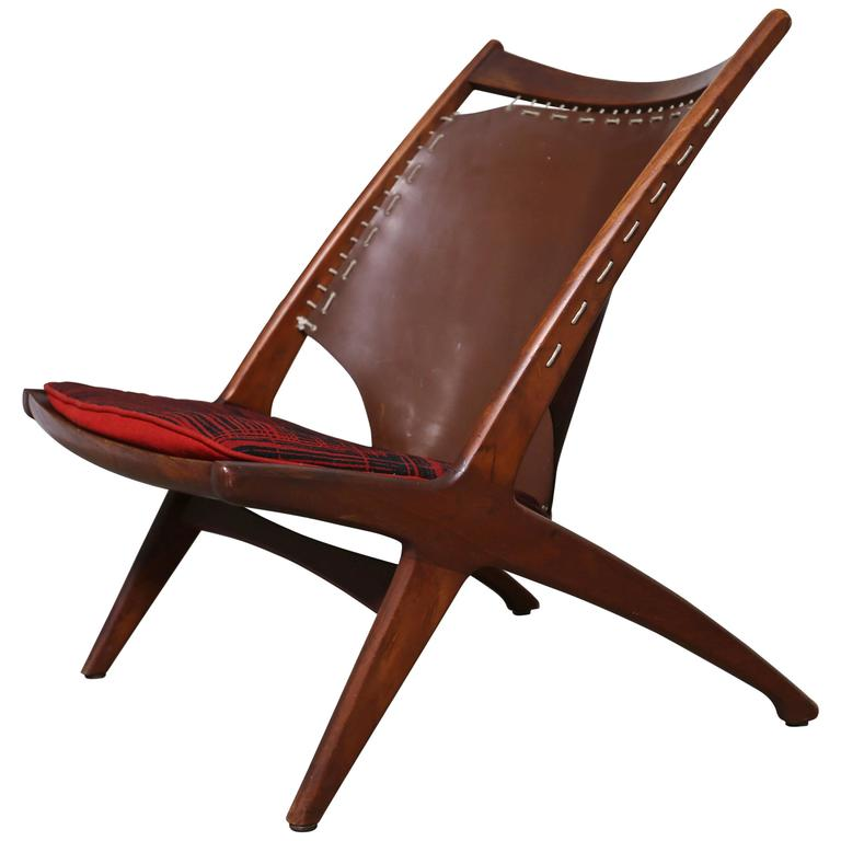 "Krysset ""The Cross"" Lounge Chair by Fredrik Kayser"