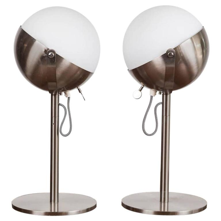 Andree Putman Table Lamps by Fontana Arte 1