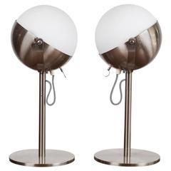 Andree Putman Table Lamps by Fontana Arte