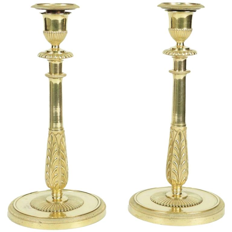 Woodenware Pair Of Wooden Candlesticks Clients First Antiques