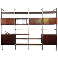 Four Bay George Nelson Omni Storage System