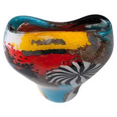 Dino Martens for Aureliano Toso Vase 'Oriente'