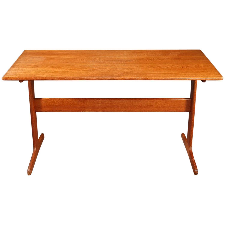 scandinavian desk of the 1960s in teak danish design for sale at 1stdibs. Black Bedroom Furniture Sets. Home Design Ideas