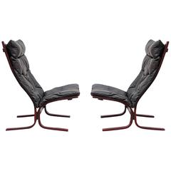 Pair of Siesta Sling Chairs by Ingmar Relling for Westnofa