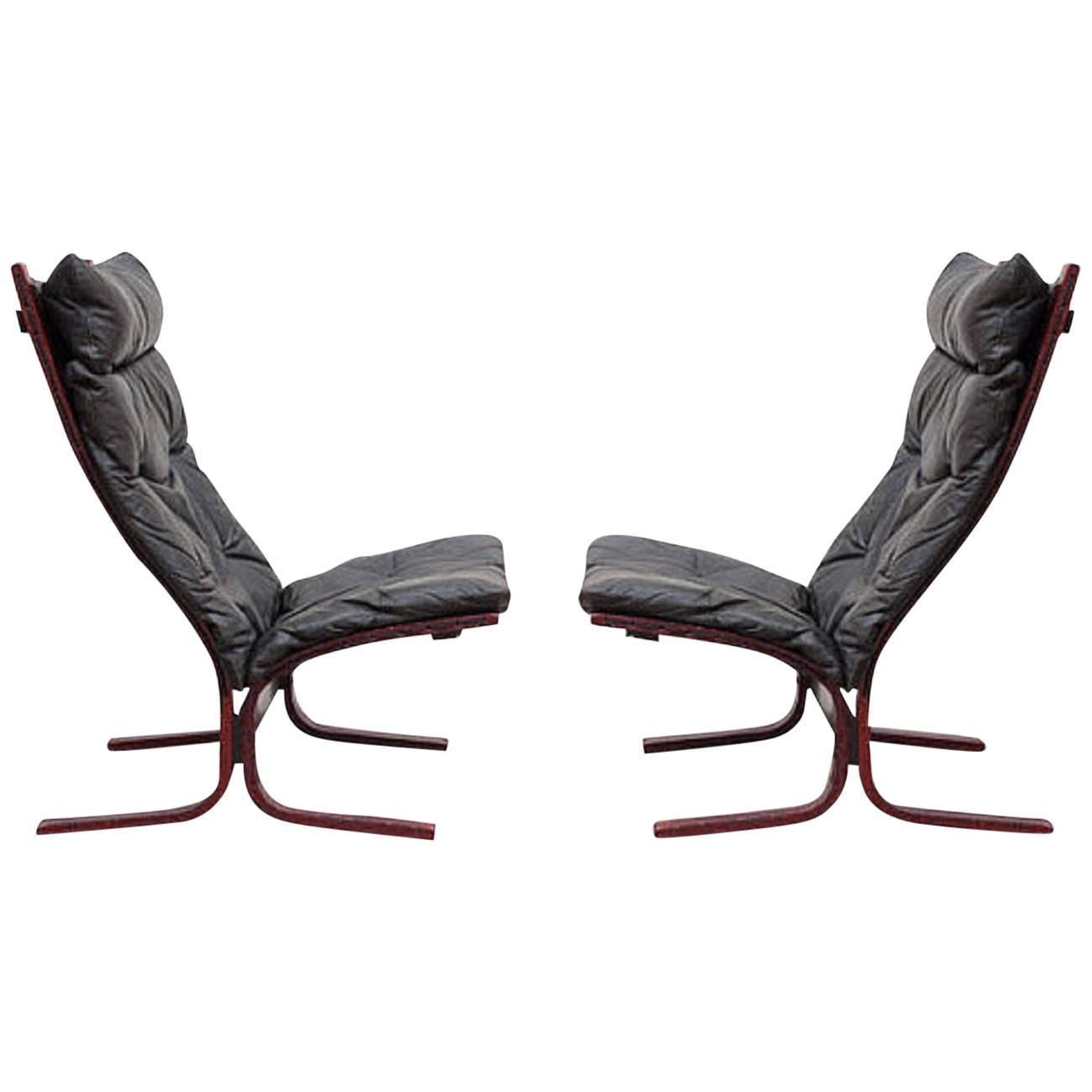 Pair Of Siesta Sling Chairs By Ingmar Relling For Westnofa At 1stdibs