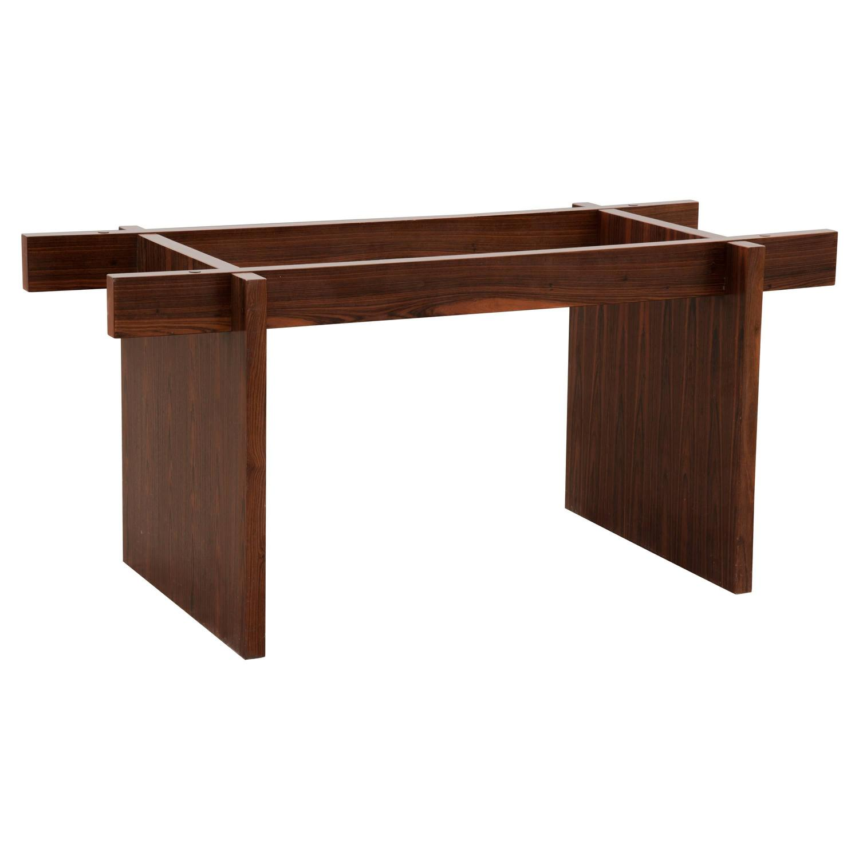 Danish Modern Rosewood Veneer Dining Table Base At 1stdibs