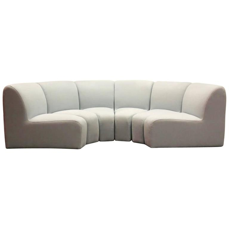 Artifort 100 mississippi sectional sofa the netherlands for Sectional sofa 100 x 80