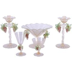 Murano Table Service for 11+ by Barovier e Toso