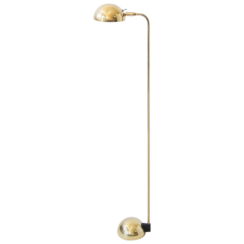 robert sonneman for george kovacs brass floor lamp for sale at 1stdibs. Black Bedroom Furniture Sets. Home Design Ideas