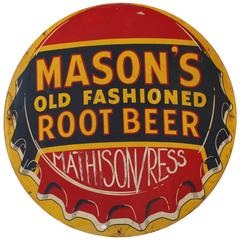 Mason's Old Fashioned Root Beer Sign