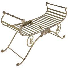 Italian Iron Bench
