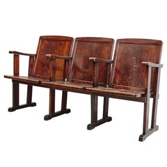 Theater Bench, circa 1920