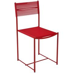 Spaghetti Side Chair in Red by Giandomenico Belotti for Alias