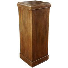 Custom Oak Pedestal