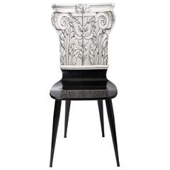 Early Chair by Piero Fornasetti