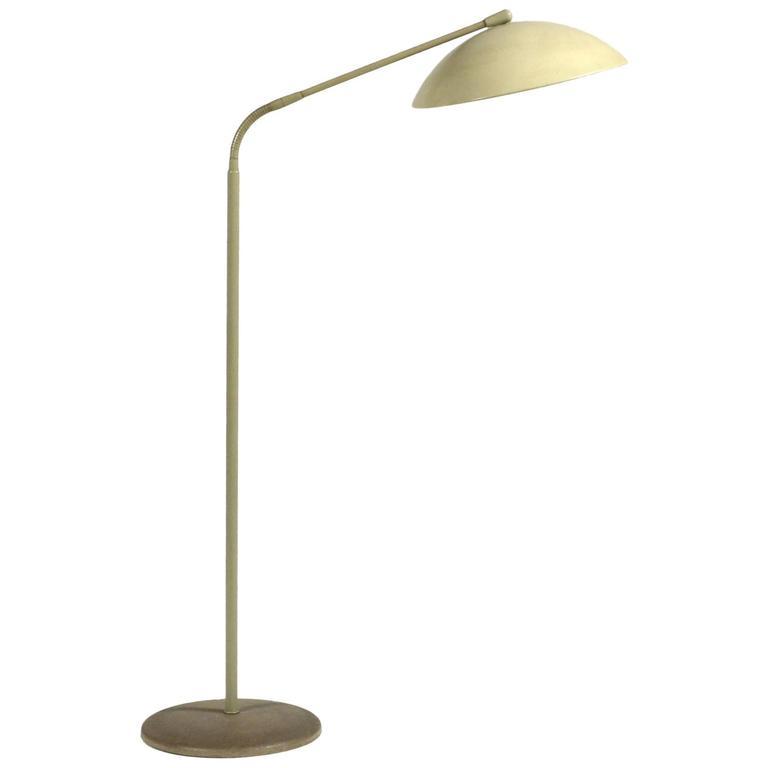 Kurt Versen Floor Lamp At 1stdibs