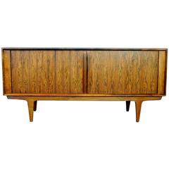 Scandinavian Modern Brazilian Rosewood Sideboard by Bernhard Pedersen