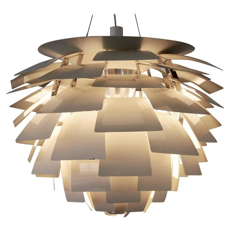 poul henningsen artichoke ceiling lamp for sale at 1stdibs. Black Bedroom Furniture Sets. Home Design Ideas