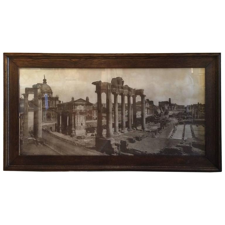 Grand Tour Photo of the Roman Forum, Large-Scale